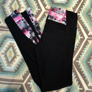 MPG Pink Black & White Leggings Size Small